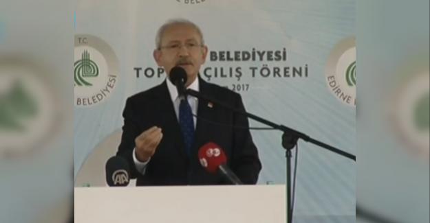 Kılıçdaroğlu: Sayın Erdoğan Gereğini Yapıyorum ve Onları Kutluyorum
