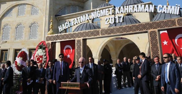 TBMM Başkanı Kahraman Etimesgut'ta Camii Açtı