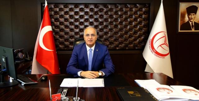 """TVF Başkanı Üstündağ: """"Şiddetin Her Türlüsüne Karşıyız"""""""