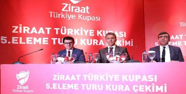 Ziraat Türkiye Kupası 5. Eleme Turu Eşleşmeleri Belli Oldu