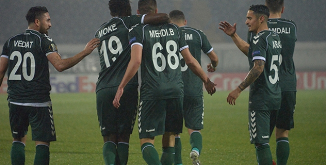 Atiker Konyaspor Avrupa'ya Beraberlikle Veda Etti