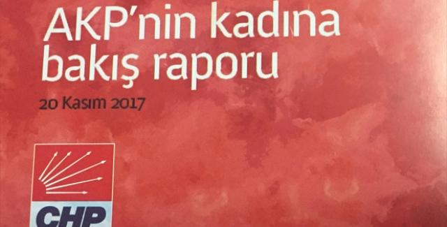 CHP'den 'AKP'nin Kadına Bakış Raporu'