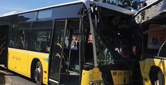 İstanbul'da Metrobüs Kazası: 1'i Ağır Çok Sayıda Yaralı Var