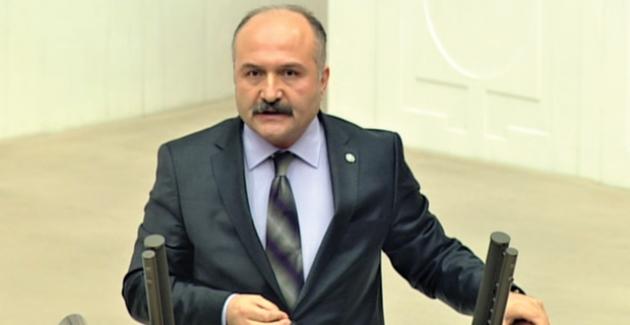 MHP'li Usta TBMM Genel Kurulunda Ayvacık-Taşova-Erbaa Yolunu Gündeme Getirdi
