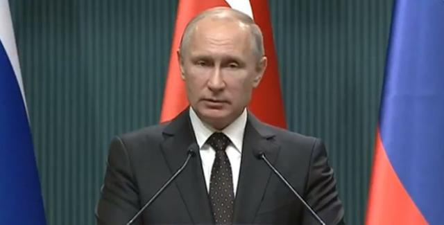 Putin: Kudüs Kararı, Barış Sürecinin Perspektiflerini Baltalayabilir