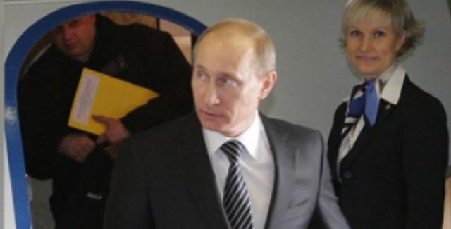 Rusya Devlet Başkanı Vladimir Putin Ankara'ya Geldi