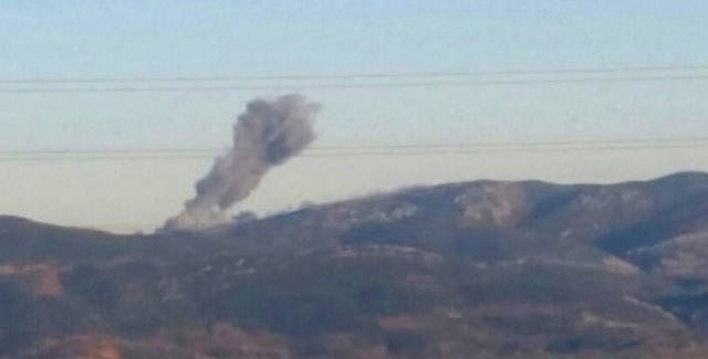 """Afrin'e """"Zeytin Dalı Harekatı"""" Başladı!"""