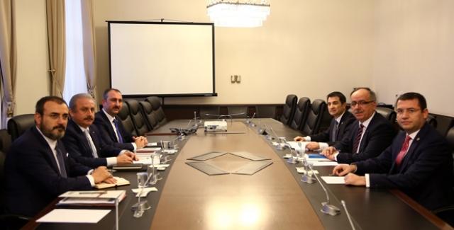 AK Parti-MHP İttifak Komisyonu İlk Toplantısını Yaptı