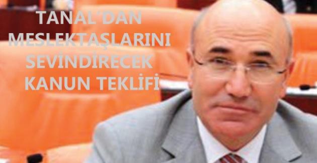 """CHP'li Tanal, """"Avukatların Staj Kredisi Yükü Hafifletilmeli"""""""
