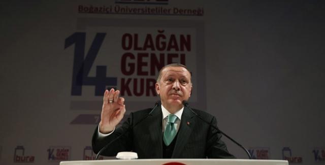 Cumhurbaşkanı Erdoğan'dan Boğaziçi Üniversitesi Eleştirisi