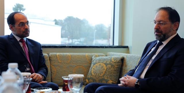Diyanet İşleri Başkanı Erbaş, Amerikan İslam İlişkileri Konseyi Başkanı Awad'ı Kabul Etti