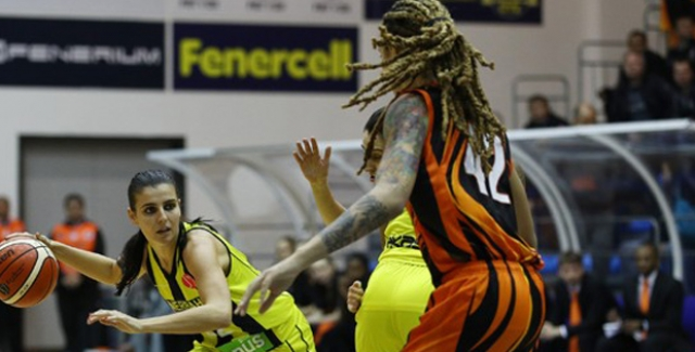 Euroleague Kadınlar: Fenerbahçe 80 - UMMC Ekaterinburg 77