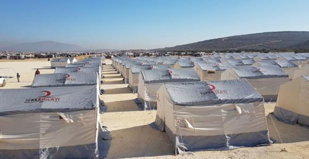 İdlip'in Kuzeyine Olan Göç Sürüyor