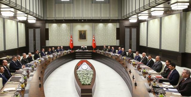 MGK Bildirisi: Türkiye'nin Hemen Yanı Başında Terörist Ordusu Kurulmasına İzin Verilmeyecek
