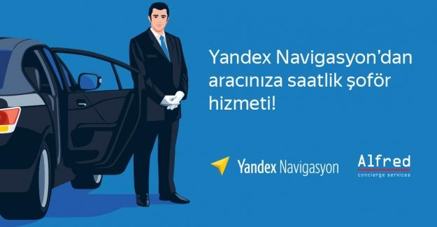 Navigasyon Üzerinden Özel Şoför Hizmeti