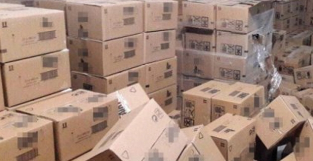 Şırnak'ta 1.5 Ton Gıda Maddesi Ele Geçirildi
