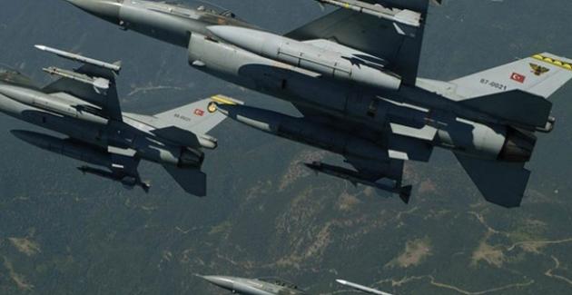 TSK Irak'ın Kuzeyine Hava Harekatı Düzenledi
