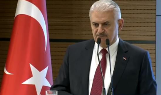 Yıldırım: Bunun Anlamı Terör Örgütünün Arkasından Nişan Alarak Türkiye'ye Düşmanlık Etmek