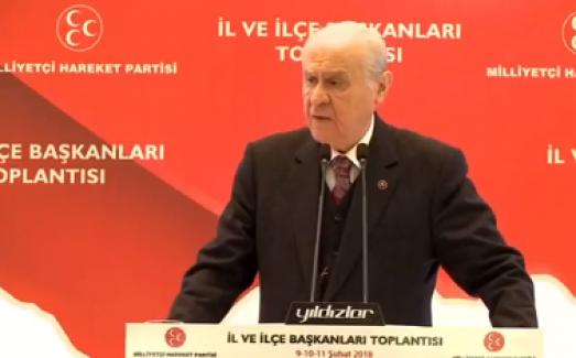 Bahçeli'den Kılıçdaroğlu'na: Yarın Birileri Hatay'dan, Kilis'ten Çıkın Derse Ne Yapacaksın?