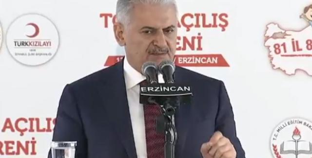 Başbakan Yıldırım: Türkiye'nin Dostluğu Sizin İçin Önemliyse Bir An Önce Bu Yoldan Vazgeçin