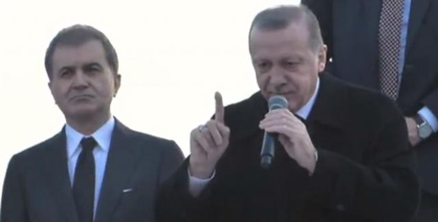 Cumhurbaşkanı Erdoğan: Türkiye'ye Ve Türk Milletine Ders Vermeye Yönelmeyin