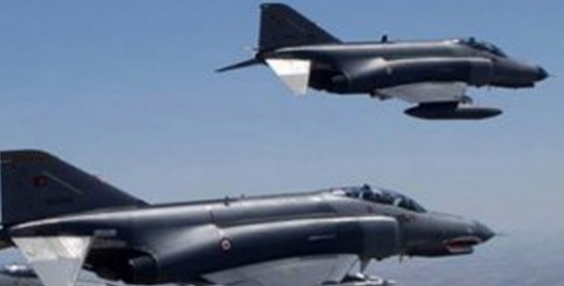 Irak Kuzeyinde 8 Hedef İmha Edildi