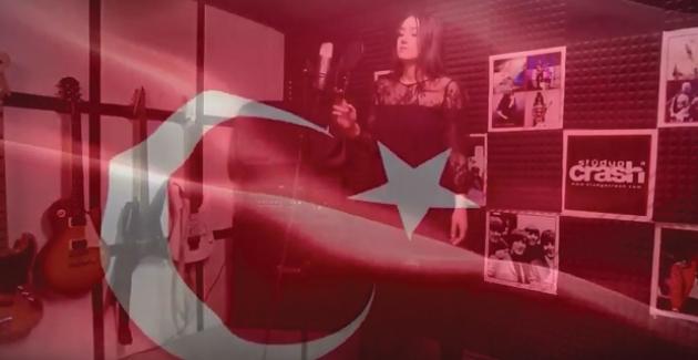 Milletvekilinin Kızı Afrin Klibini Yazdı Ve Söyledi