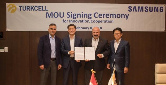 Turkcell ve Samsung 5G İçin Güçlerini Birleştiriyor