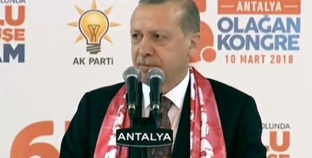 Cumhurbaşkanı Erdoğan: Şu Anda Mehmetçiğimiz Afrin'e Girdi, Giriyor