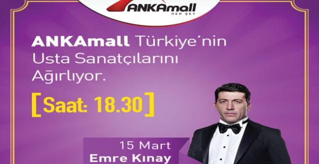 Emre Kınay AnkaMall'da Sevenleriyle Bir Araya Geliyor
