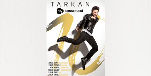 megastar tarkan fizy konserleri le avrupa 39 da. Black Bedroom Furniture Sets. Home Design Ideas