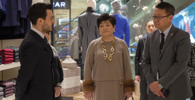 Moğolistan First Lady'si Gobi Kaşmir'i Ziyaret Etti