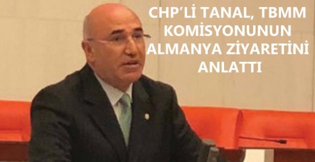 "CHP'li Tanal, ""Berlin Yunus Emre Kültür Merkezi'nde Atatürk'ün Portresi, Fotoğrafı Yok"""