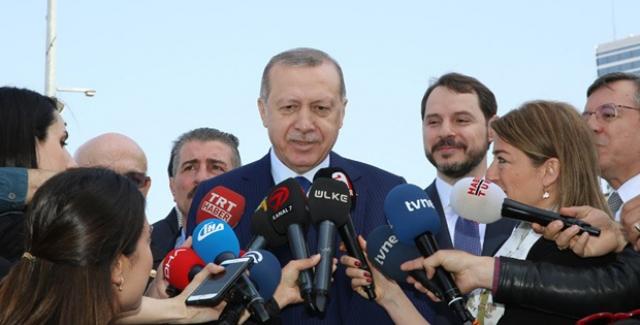 Cumhurbaşkanı Erdoğan: Bölgede Suların Isınması Doğru Değil