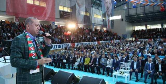 Cumhurbaşkanı Erdoğan: Kanal İstanbul'u Yapacağız