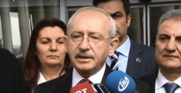 Kılıçdaroğlu: Ana Aktörü Bir Bekleyelim