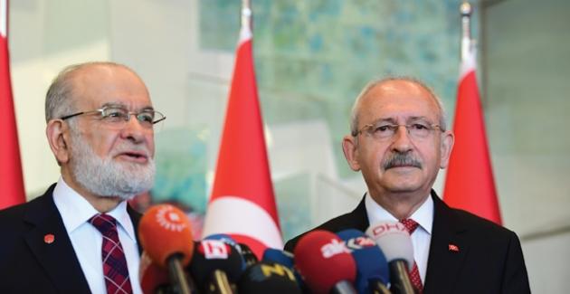 Kılıçdaroğlu, Karamollaoğlu İle Görüştü