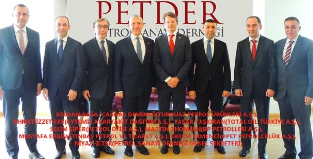 PETDER'in Yeni Yönetim Kurulu Başkanı Selim Şiper Oldu