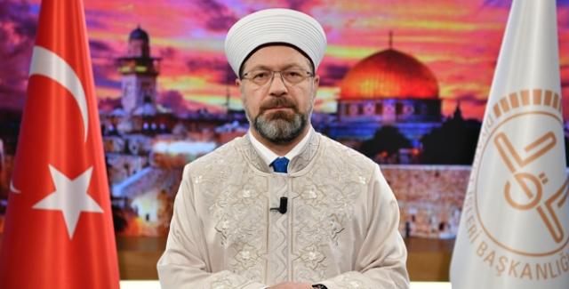 Erbaş: Kudüs, Müslümanların Ve İnsanlığın Önünde Bir Vicdan, Hukuk Ve Ahlak Sınavıdır