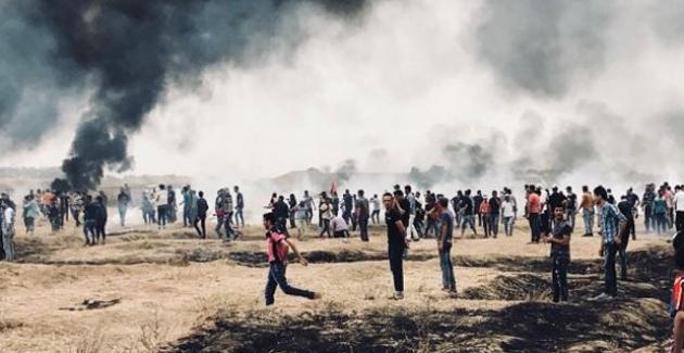 Gazze Sınırında Bir Bebek De Öldü