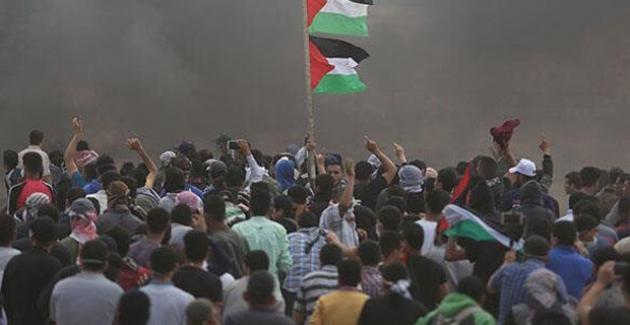 Gazze Sınırında İki Filistinli Öldürüldü, Onlarca Yaralı Var