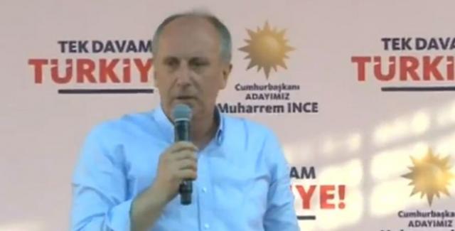 İnce: Türkiye'nin Çiftçiye Olan Borcunu Ödeyeceğim