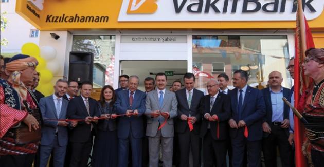 Kızılcahamam'da Vakıfbank Şubesi Açıldı