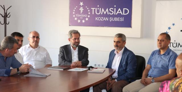 """AK Partili Ünüvar, """"Türkiye'nin İstikameti Hep Daha Yukarı Olacak"""""""