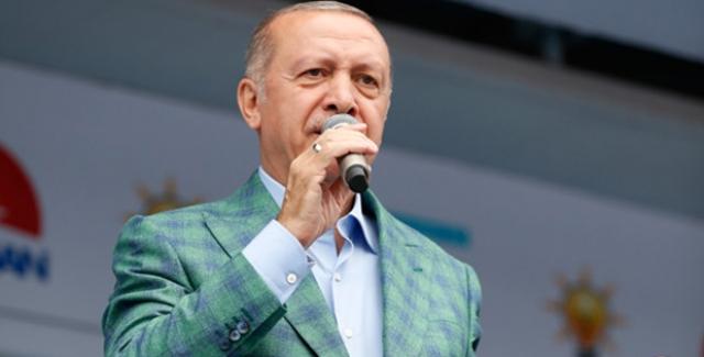 Cumhrubaşkanı Erdoğan'dan İnce'ye: Bunlar Pahalı Geliyorsa Sandalla Git