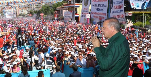 Cumhurbaşkanı Erdoğan'dan İnce'ye: Bir Küçük Kılıçdaroğlu
