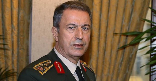 Genelkurmay Başkanı Akar, NATO Komutanı Scaparrotti İle Münbiç'i Konuştu