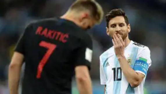 Hırvatlar, Arjantin'i Devirdi