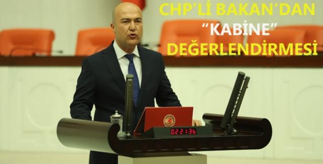 """CHP'li Bakan: """"Despotik Tek Adam Rejimine Karşı Mücadele Boynumuzun Borcu"""""""