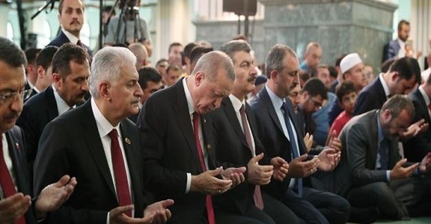 Cumhurbaşkanı Erdoğan Kuran-I Kerim Okudu